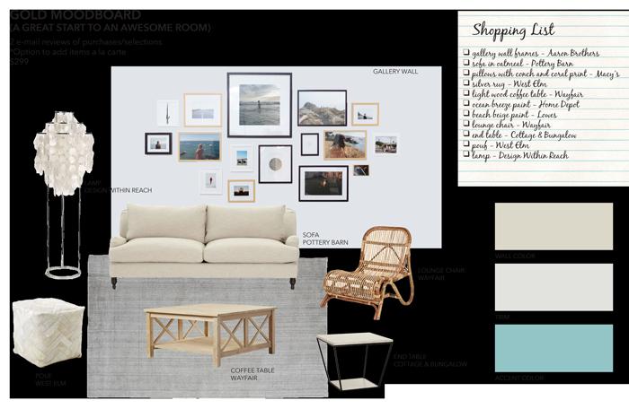 Gold Mood Board From Sea Interior Design Are You Decorating