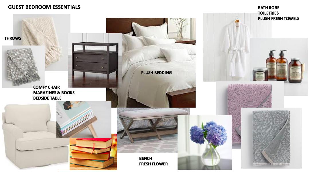 Guest Bedroom Essentials